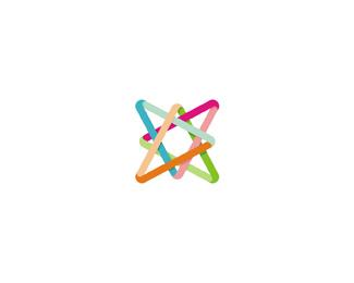 Adlfatus interior design studio color logo design by Alex Tass