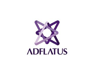 Adlfatus interior design studio logo design by Alex Tass