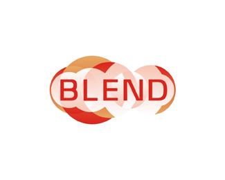 Blend consulting logo design by Alex Tass