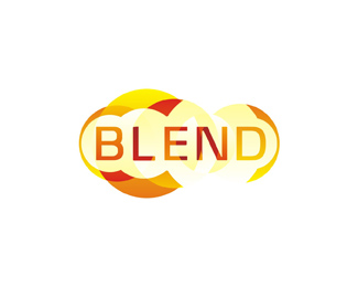 Blend consulting variation logo design by Alex Tass