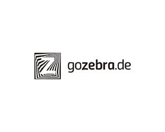 Go Zebra truck rental moving company a logo design by Alex Tass