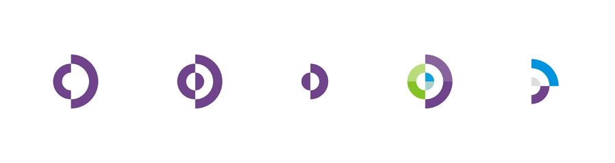 CD monogram abstract symbol logo design by Alex Tass