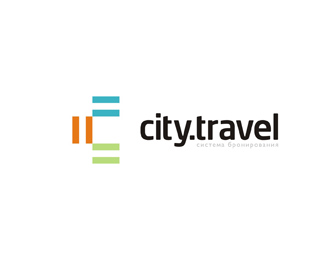 city travel agency logo design by Alex Tass