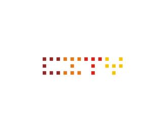 city travel agency vorizontal logo design by Alex Tass