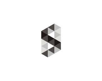 die schlacht der fakultaten geometric symbol logo design by Alex Tass