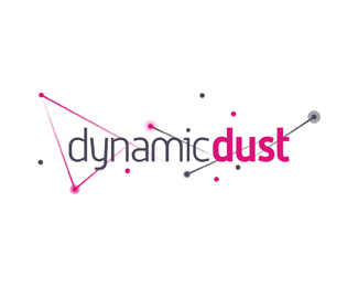 dynamic dust games applications developer logo design by Alex Tass