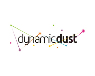 dynamic dust games applications development company logo design by Alex Tass