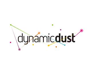 dynamic dust games applications development company logo design by Alex Tass
