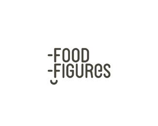 food, nutrition, diet software application variation logo design by Alex Tass