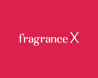fragrance x online store brand name fragrances 1 logo design by Alex Tass