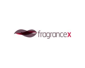 fragrance x online store brand name fragrances b logo design by Alex Tass