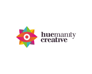 huemanity creative freelance graphic design startup gradients logo design by Alex Tass