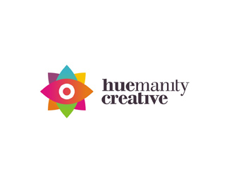 huemanity creative freelance graphic design startup logo design by Alex Tass