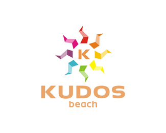 kudos beach bar club terrace 2013 logo redesign refresh rebranding variation logo design by Alex Tass