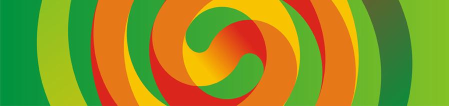 mello natural melon based juice corporate promotion pattern logo design by Alex Tass
