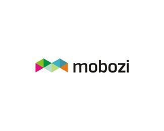 mobozi web and mobile software developer color logo design by Alex Tass