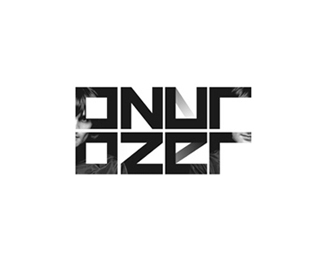 onur ozer electronic music edm dj producer logo design by Alex Tass