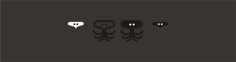 sepia solutions video on demand digital asset management service symbols logo design by Alex Tass