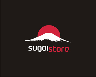 sugoi store - high quality Japan products online store black logo design by Alex Tass