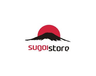 sugoi store - high quality Japan products online store logo design by Alex Tass