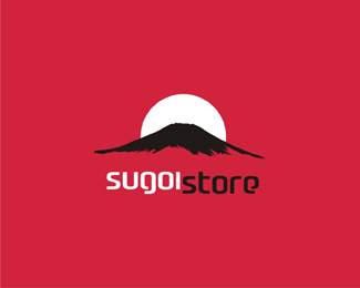 sugoi store - high quality Japan products online store red logo design by Alex Tass