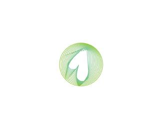 the one dot fm radio circle color logo design by Alex Tass