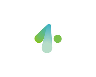 the one dot fm radio full logo design by Alex Tass