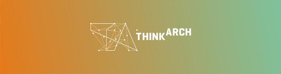 think arch architecture, urbanism, landscape, garden architecture, competition logo design by Alex Tass