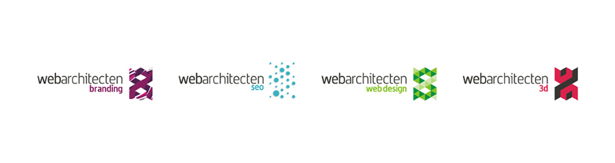 web architecten advertising agency sub-branding branding, seo, web design, 3d logo design by Alex Tass