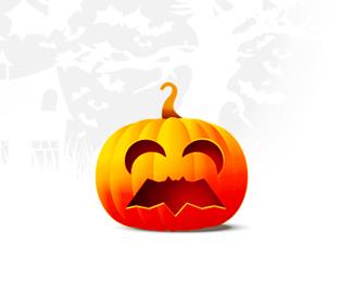 alex tass bat logo design symbol halloween pumpkin