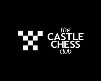 castle chess logo design by alex tass
