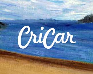 cricar carmen cristea painter plastic artist paintings logo design by alex tass