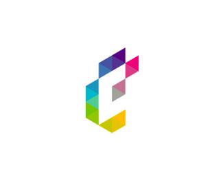 e c monogram logo design symbol by alex tass
