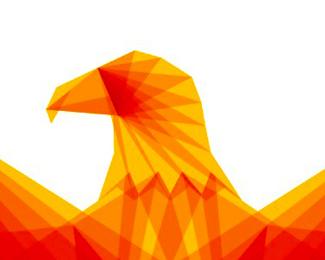 eagle head symbol icon logo design by alex tass