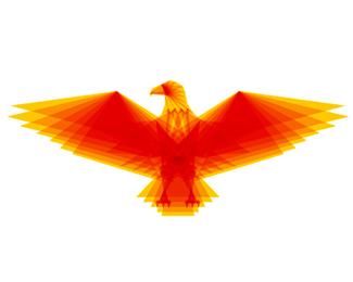 eagle symbol icon logo design by alex tass
