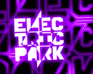 electric park flyer poster event party logo design by alex tass