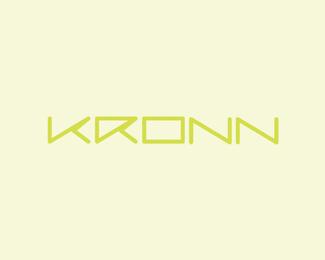 kronn tennis naming logo design by alex tass