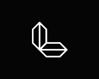 l luxury time directions monogram logo design symbol by alex tass