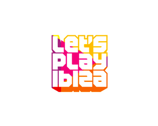 let's play ibiza edm news portal logo design by alex tass