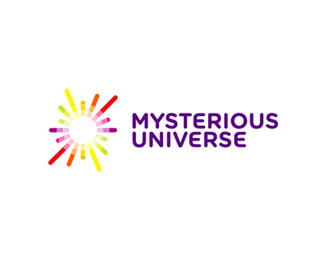 mysterious universe space radio show podcast logo design redesign by alex tass