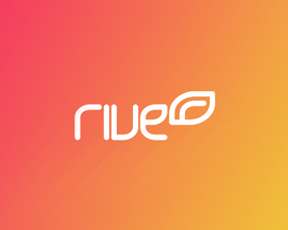 rive radio web mobile apps logo design by alex tass